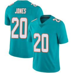 Nike Reshad Jones Miami Dolphins Youth Limited Aqua Team Color 100th Vapor Untouchable Jersey