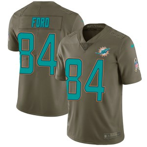 Nike Isaiah Ford Miami Dolphins Youth Limited Green 2017 Salute to Service Jersey