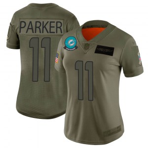 Nike DeVante Parker Miami Dolphins Women's Limited Camo 2019 Salute to Service Jersey