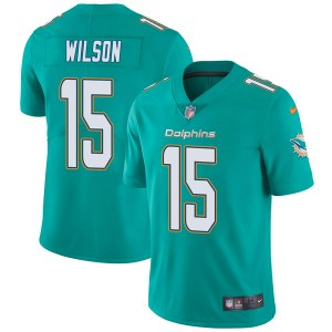 Nike Albert Wilson Miami Dolphins Youth Limited Aqua Team Color Vapor Untouchable Jersey