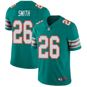 Nike Maurice Smith Miami Dolphins Youth Limited Aqua Alternate Vapor Untouchable Jersey
